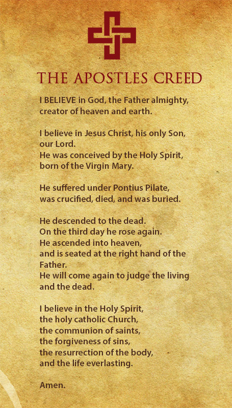 Why is the apostles creed important