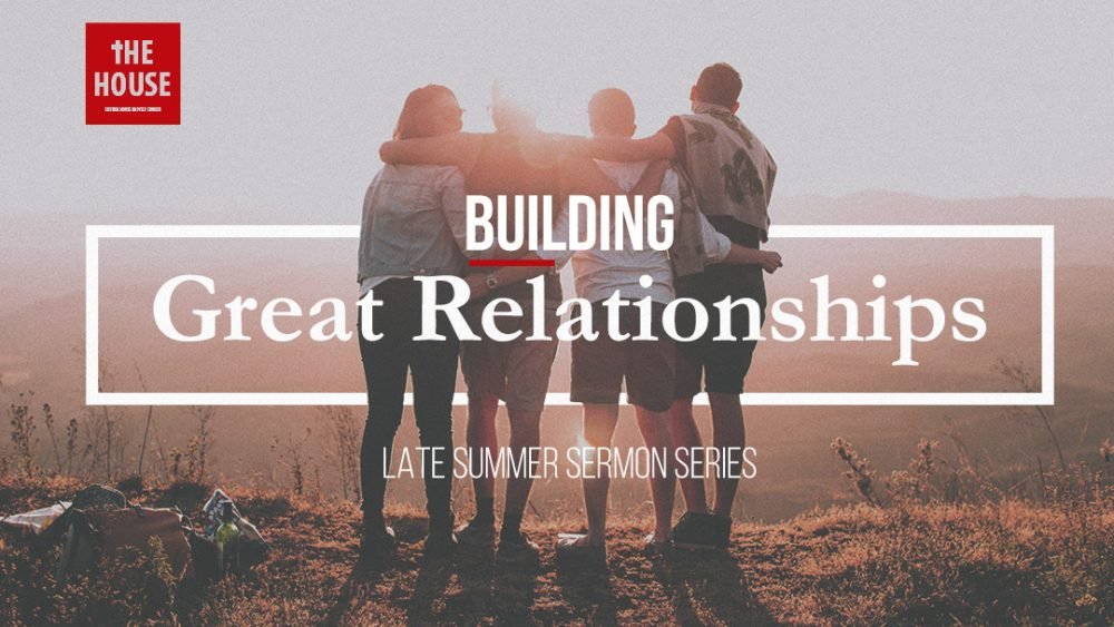 Building Great Relatonships