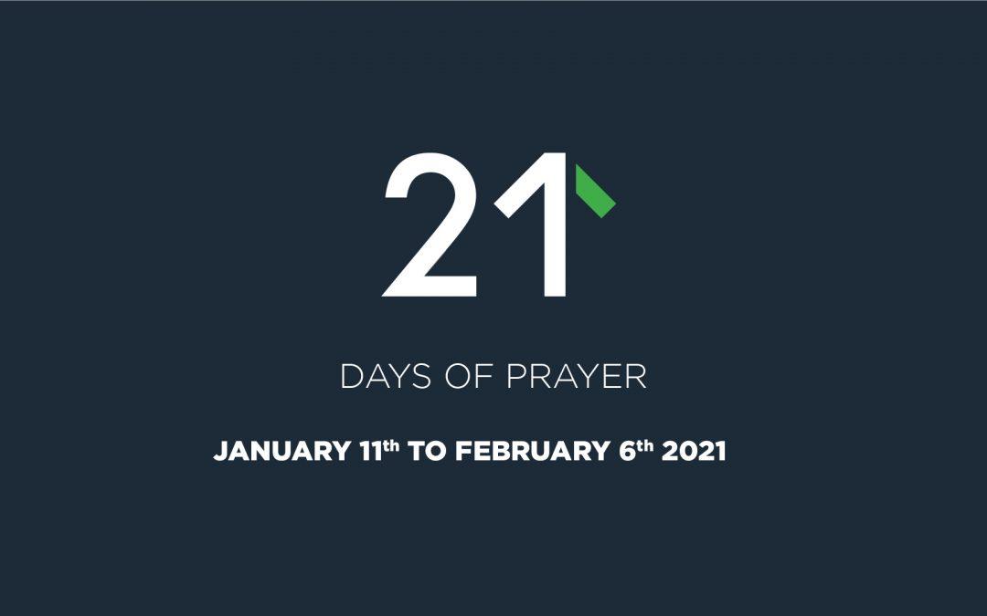 21 Days of Prayer 2021
